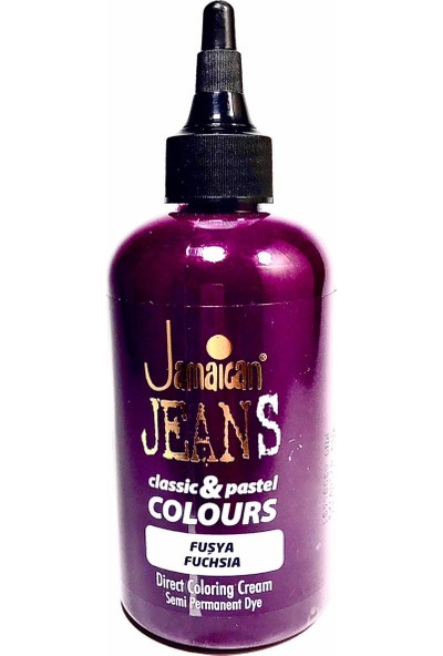 Jamaican Jeans Color Saç Boyası Fuşya BOYA1007