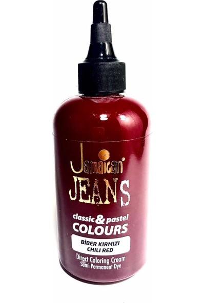 Jamaican Jeans Color Saç Boyası Biber Kırmızı BOYA1011