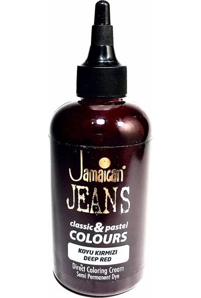 Jamaican Jeans Color Saç Boyası Koyu Kırmızı BOYA1013