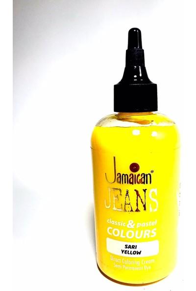 Jamaican Jeans Color Saç Boyası Sarı BOYA1010