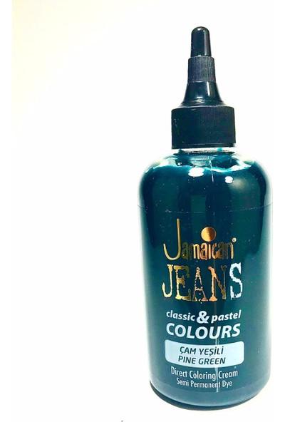 Jamaican Jeans Color Saç Boyası Çam Yeşilii BOYA1002