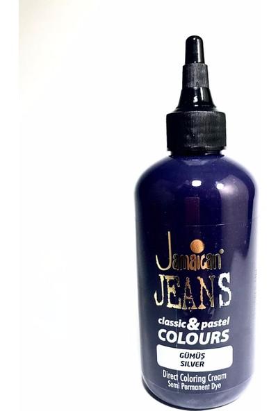 Jamaican Jeans Color Saç Boyası Gümüş Gri BOYA1017
