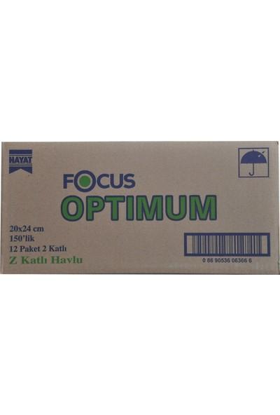 Focus Optimum Z Katlı Havlu 12 x 200'LÜ