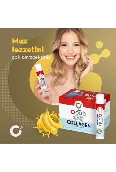 Coob Collagen Muz Aromalı Shot Kolajen 15'li