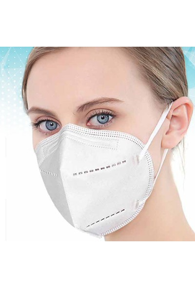 Imsafe N95 / Ffp2 Protectıve Maske 1 Adet Ambalajlı