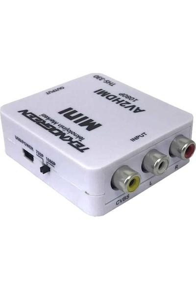 Teknogreen THS-330 Video To HDMI Dönüştürücü