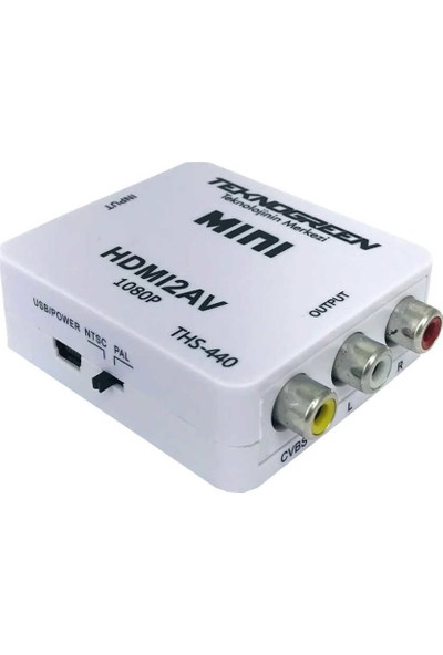 Teknogreen THS-440 HDMI To Video Dönüştürücü
