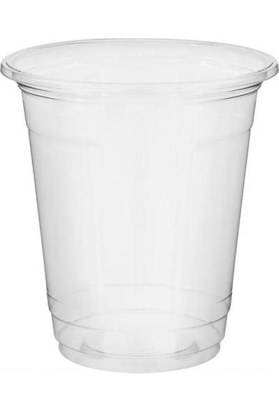 1001 Ambalaj Plastik Bardak 400 ml 14 Oz 50 'lişeffaf