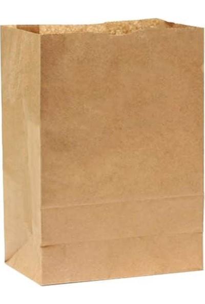 1001 Ambalaj Kese Kağıdı Fast Food Menu Servis Paket Torbası 25 x 14 x 33 50'li