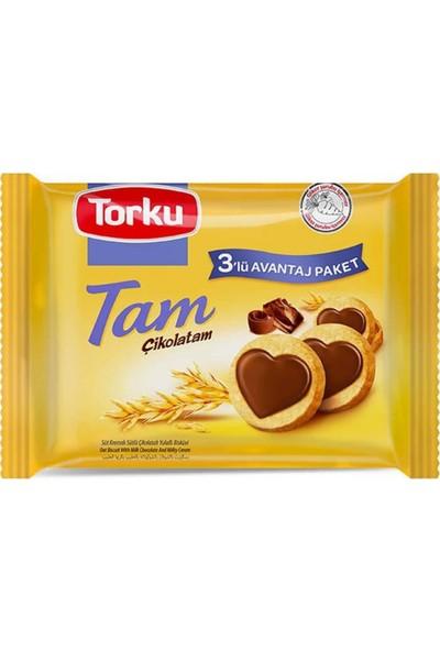Torku Tam Çikolatam Bisküvi 249GR