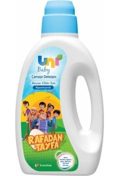 Uni Baby Çamaşır Deterjanı Rafadan Tayfa 1500ML
