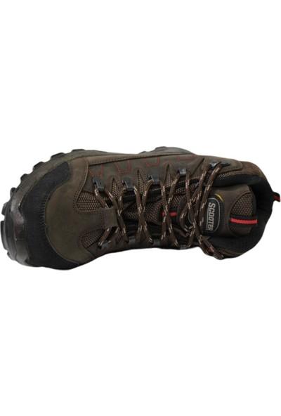 Scooter M1234 Kahve Su Geçirmez Erkek Ayakkabı Bot