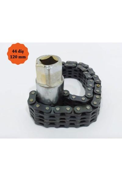 Nt Tools Çift Zincirli Lokmalı Filtre Sökme Anahtarı 120MM 44 Diş