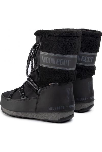 Moon Boot Kadın Bot 24009000 001 Monaco Wool Mıd Black