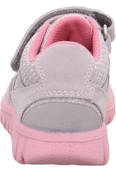 Superfit Kız Çocuk Spor Ayakkabı 0-609191-2600-1 Ayakkabı Gri 24-26
