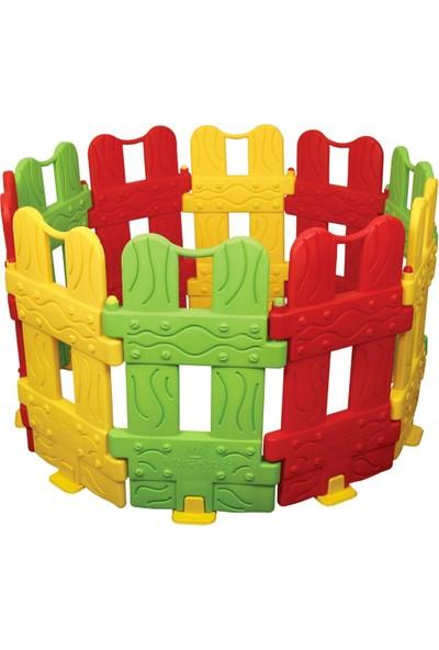 King Kids Bahçe Oyun Çiti 10 Parça