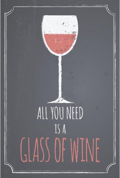 Atc Şarap Retro Vintage Ahşap Poster