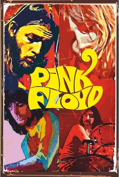 Atc Pink Floyd Retro Vintage Ahşap Poster