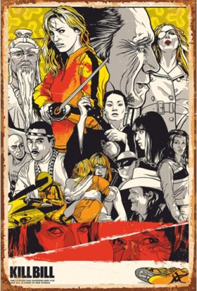 Atc Kill Bill Sinema Retro Vintage Ahşap Poster