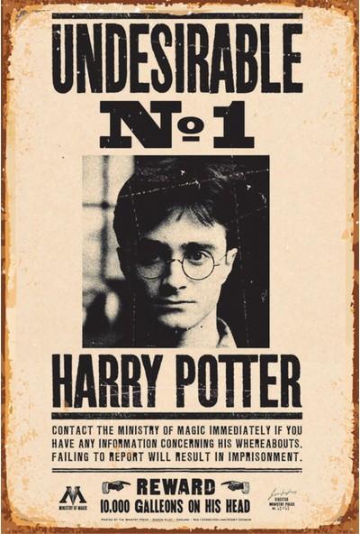 Atc Harry Potter Aranıyor Retro Vintage Ahşap Poster
