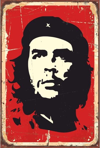 Atc Ernesto Che Guevara Retro Vintage Ahşap Poster