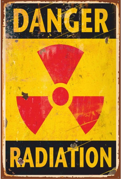 Atc Danger Retro Vintage Ahşap Poster 2030018