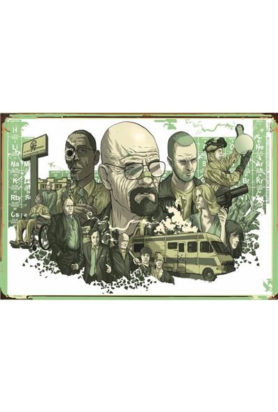 Atc Breaking Bad Sezon Retro Vintage Ahşap Poster