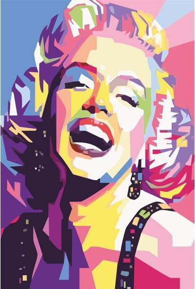 Atc Myrlen Monroe Retro Vintage Ahşap Poster