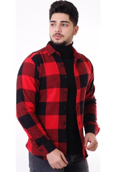 Stil Kombin Bold Cepsiz Ekose Oduncu Kışlık Gömlek