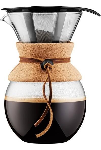 Bodum Pour Over Metal Filtre 8 Cup