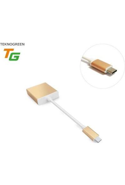 Teknogreen TKD-266 3.1 Type-C To HDMI Dönüştürücü