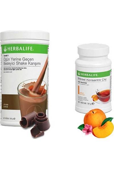 Herbalife Çikolata Shake - Şeftali Çay 50 gr