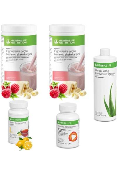 Herbalife Ahududu Shake 2 - Çay Limon - Aloe Vera - Thermo Complete