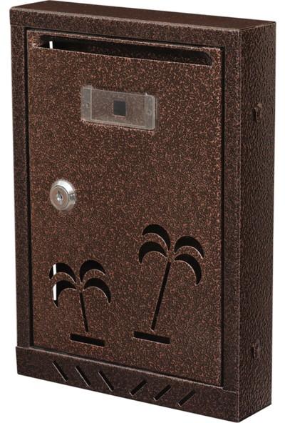 Aksan 221 Palmiye Metal Posta Kutusu