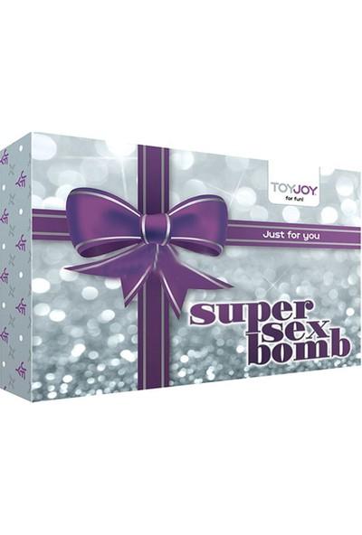 Toyjoy Super Bomb Eğlence Seti ve Playboy Masaj Yağı