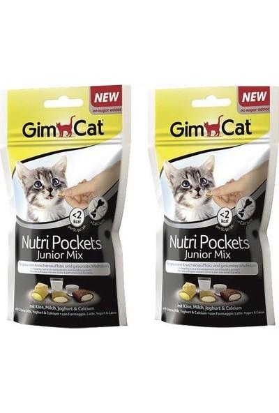 Gimcat Nutri Pockets Junior 2 Adet Mix Yavru Kedi Ödülü 60 gr