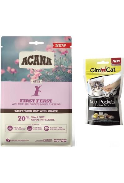 Acana First Feast Kitten Yavru Kedi Maması 340 gr + Junior Mix Ödül