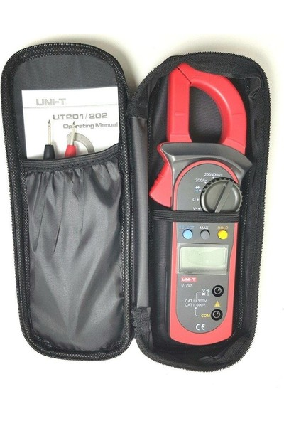 Uni-T UT-202 Pensampermetre True Rms Dijital Pensampermetre