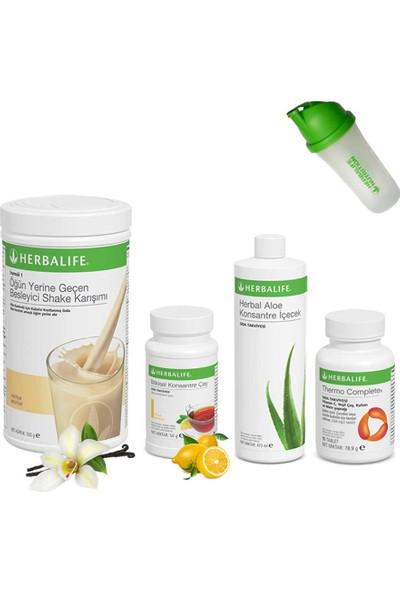 Herbalife Shake Vanilya - Herbalife Çay Limon - Aloe Vera - Herbalife Thermo - Shaker