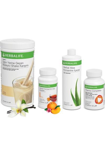 Herbalife Shake Vanilya - Herbalife Çay Şeftali - Herbalife Aloe Vera - Herbalife Thermo Complete
