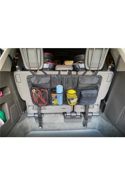 Ankaflex Highconcept Araç 8 Cepli Bagaj Çantası Koltuk Arkası Organizer Eşya Düzenleyici