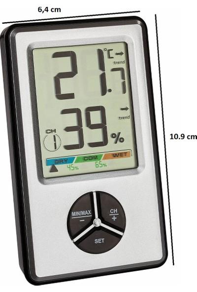 Tfa Dostmann Dijital Sıcaklık ve Nem Ölçer, Termometre - Higrometre