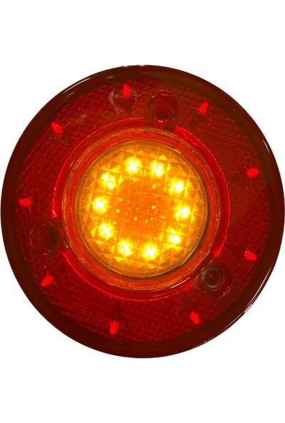 Ledshop 19 LED 2 Fonksiyon Stop Lamba Su Geçirmez 12-24 Volt 2 Adet
