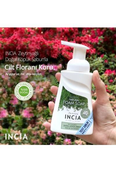 Incia Saf Zeytinyağı, Hindistan Cevizi Yağı,hint Yağı Vb. Yağlar Içeren Köpük Sabun 200 ml