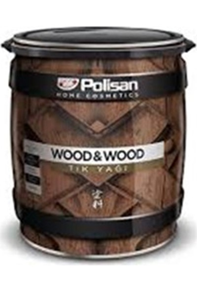 Polisan Wood & Wood Tik Yağı 2.5 Lt