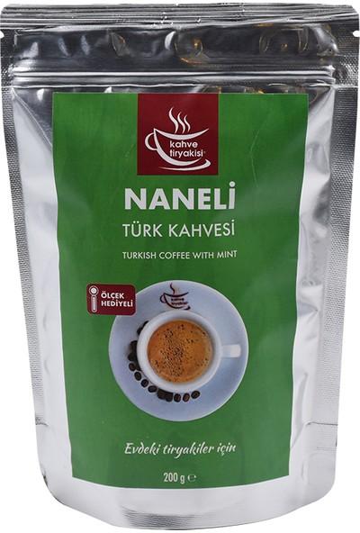 Kahve Tiryakisi Naneli Türk Kahvesi 200 gr Paket