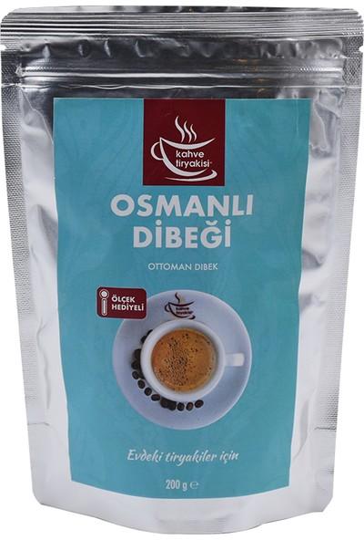 Kahve Tiryakisi Osmanlı Dibeği 200 gr Paket