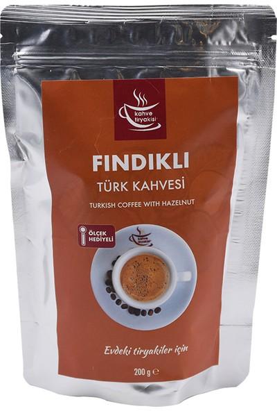 Kahve Tiryakisi Fındıklı Türk Kahvesi 200 gr Paket