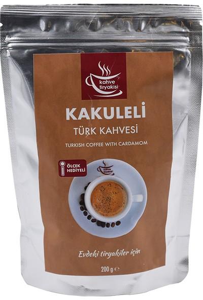 Kahve Tiryakisi Kakuleli Türk Kahvesi 200 gr Paket
