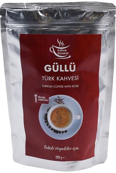 Kahve Tiryakisi Güllü Türk Kahvesi 200 gr Paket